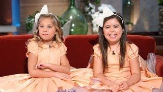 Sophia Grace &amp Rosie on Becoming Big Sisters!