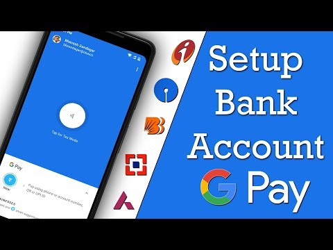 How To Setup Bank Acc In Google Pay [Hindi]