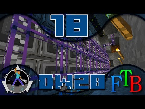 Feed the Beast Direwolf20 - Ep 18 - Bussed Storage! [World Download]