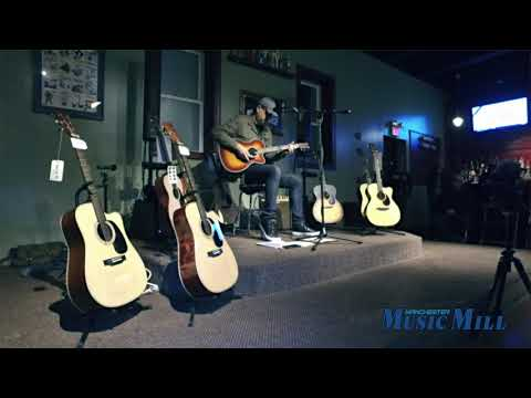 Greg Koch Martin Acoustic Experience demo - Manchester Music Mill