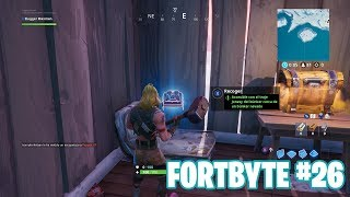 Fortnite Battle Royale ? Défis Fortbyte Comment obtenir le #26 Fortbyte