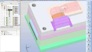 Видео-урок по созданию пресс формы в Cimatron (Mold)