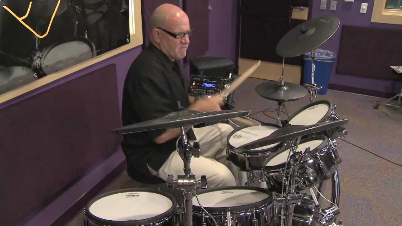 Roland Td30kv V Pro Series Electronic Drum Set Overview Full