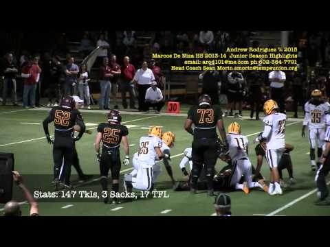Andrew Rodriguez 2013 Junior Highlights