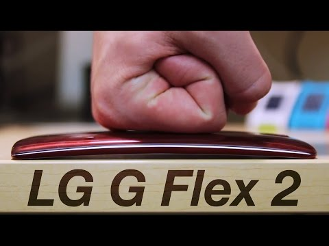 LG G Flex 2 Scratch & Bend Test