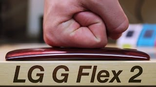 LG G Flex 2 Scratch & Bend Test