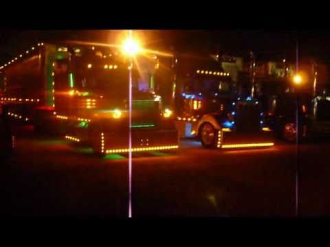 Badass Bullracks  Snow Farms Cow Truck Light Show