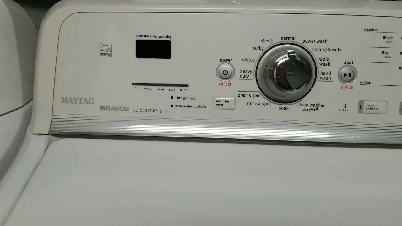 Maytag Washer Lid Lock Bypass Youtube