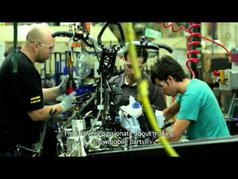 BRP - 3 Millionth Ski-Doo Snowmobile (English Version)