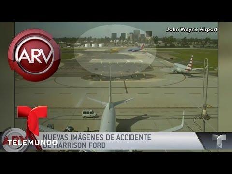 Nuevas imágenes de avioneta de Harrison Ford | Al Rojo Vivo | Telemundo