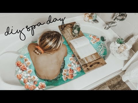 Ultimate DIY Pampering SPA Routine | Hair & Skin