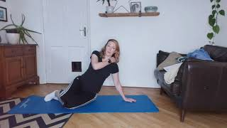 Video 47:  Thighs,  waist, abs, arms! It's a tough one!