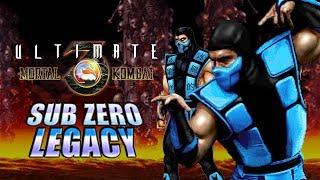Gimme The Combos - SUB-ZERO LEGACY: Ultimate Mortal Kombat 3 (Arcade 1995)