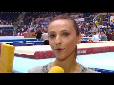 Interviu cu Adreea Răducan, la CN de Gimnastică 2015