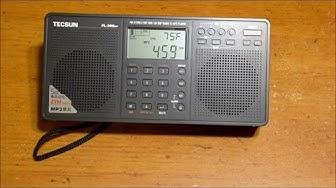 Tecsun AM/FM/SW radio PL 398MP-part 1