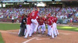 ATL@CIN: Bruce's first home run is a walk-off