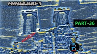 MINECRAFT GAMEPLAY   HEROBRINE ATTACKED US ON THE MOUNTAINS! SERVER LAG GHOST MYSTERY#36