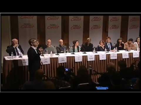 Nobel Peace Prize Concert 2012 Press Conference - Gerard Butler & Sarah Jessica Parker