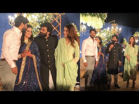 വിവാഹ സല്കാരത്തില് ദുല്കറിന്റെ മാസ്സ് എന്ട്രി | Dulquer Salmaan at wedding reception