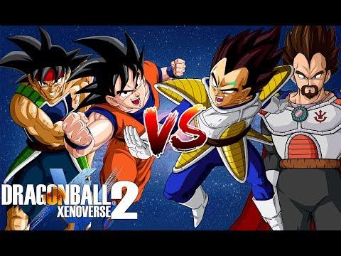 Cha Con Goku Đối Đầu Cha Con Vegeta - Dragon Ball Super Song Đấu