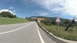 Route De Genève from Bellegarde France in 360º