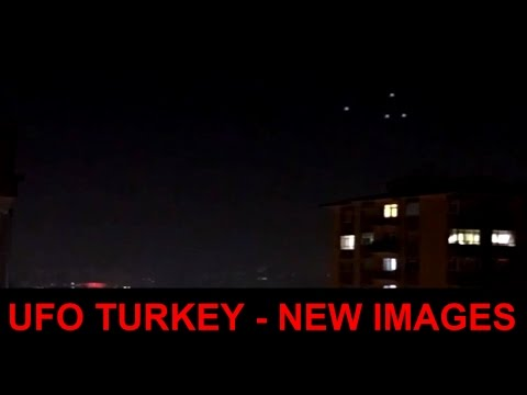 Breaking News : UFO is NOW seen in many CITIES of TURKEY - NEW IMAGES Begins to Appear 👽 ✔