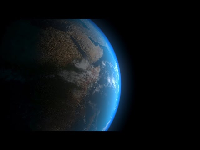 3ds MAX - Making realistic earth with V-ray shading and rendering