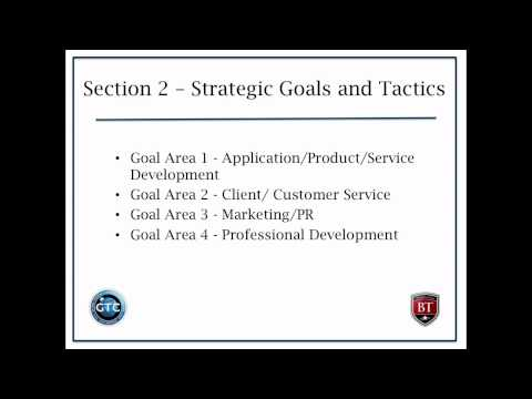 Creating a Strategic Business Development Plan
