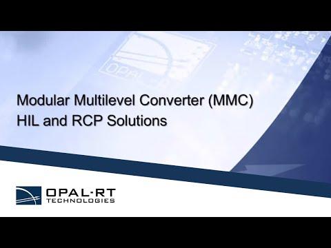 Multi-Modular Converters / MMC System solutions - An OPAL-RT webinar