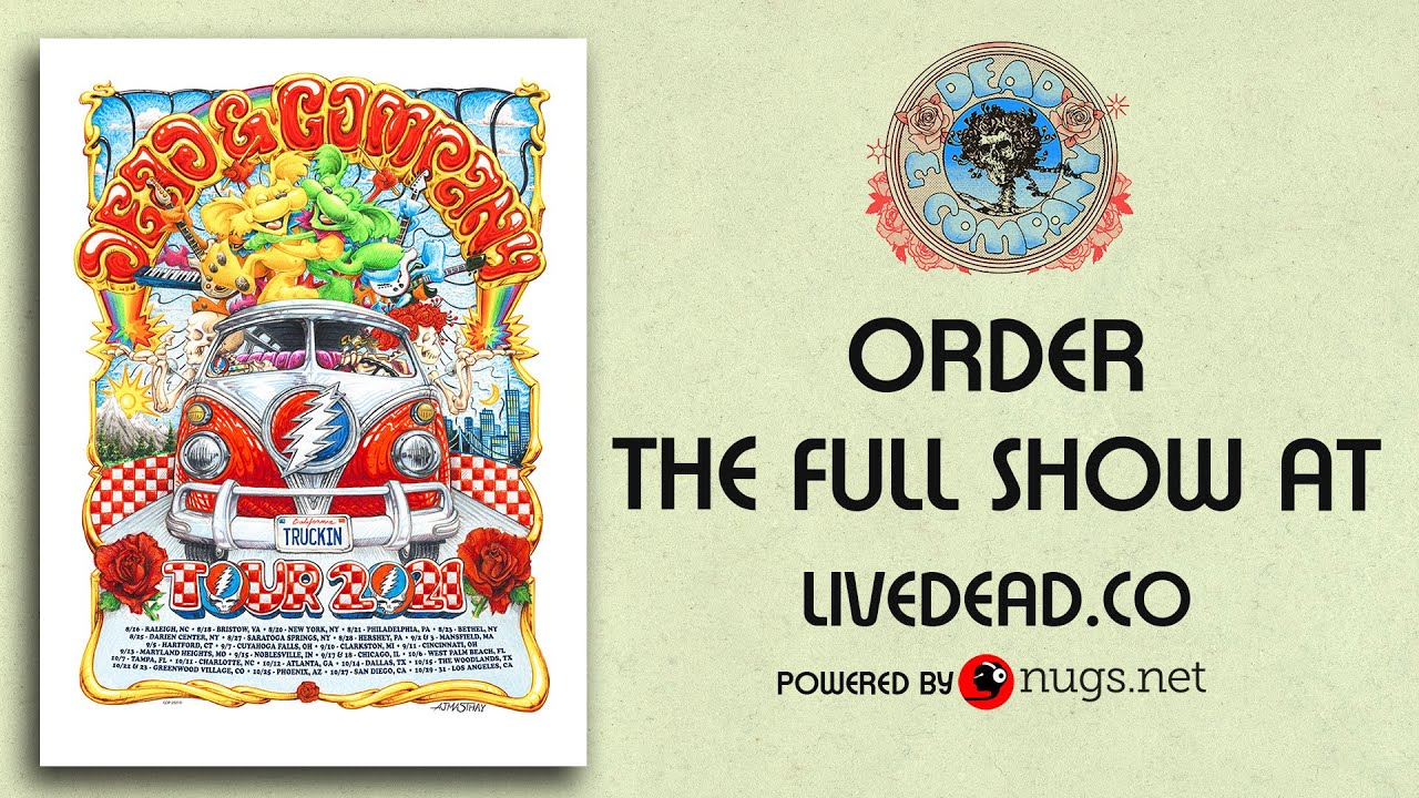 Download Dead & Company LIVE from Chicago, IL First Song Preview 9/18/21
