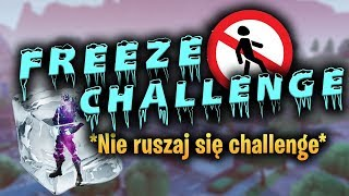 * FREEZE * CHALLENGE IN FORTNITE! -Do not move the challenge