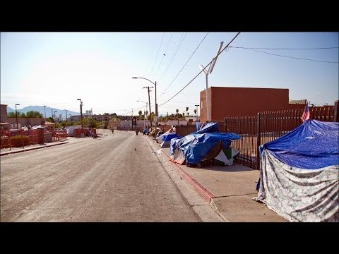 Homeless People In Las Vegas On Edge With A Killer On The Loose  Los Angeles Times