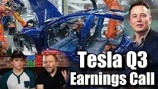 In Depth - Tesla Q3 2017 Earnings Call