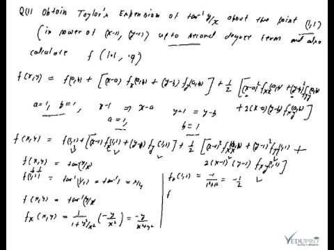 Taylor Series Taylors Series For Two Variables Taylor Series