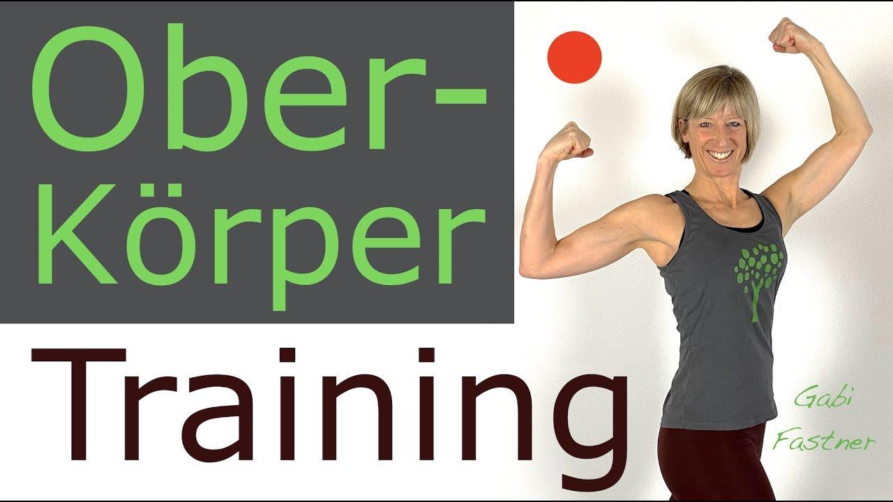 23 Min Oberkörpertraining Mit Oder Ohne Gewicht Youtube