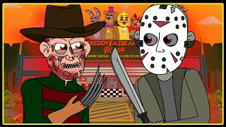 Freddy vs Jason (Parody Horror Animation)