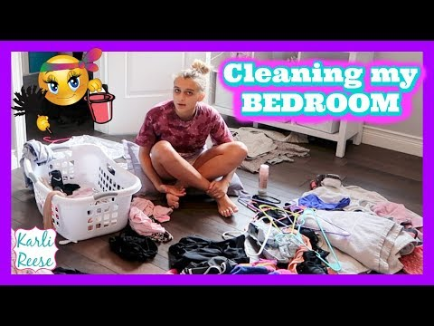 SPEED CLEANING MY BEDROOM