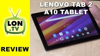 Lenovo TAB 2 A10 Tablet Review - Low cost Android tablet with 10.1 inch IPS display - A10-70F