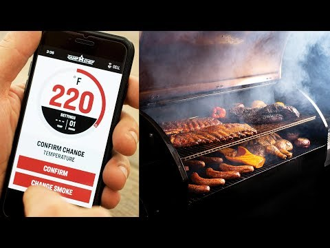 Camp Chef Woodwind Wifi Pellet Grill Overview | Cook from Your Phone | BBQGuys from YouTube · Duration:  7 minutes 13 seconds