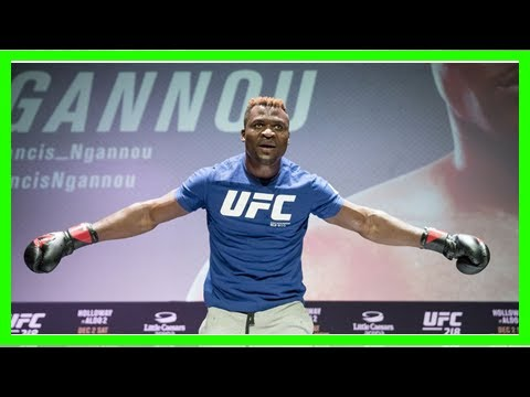 UFC 226: Francis Ngannou vs. Derrick Lewis promoted to co-main event after Max ...