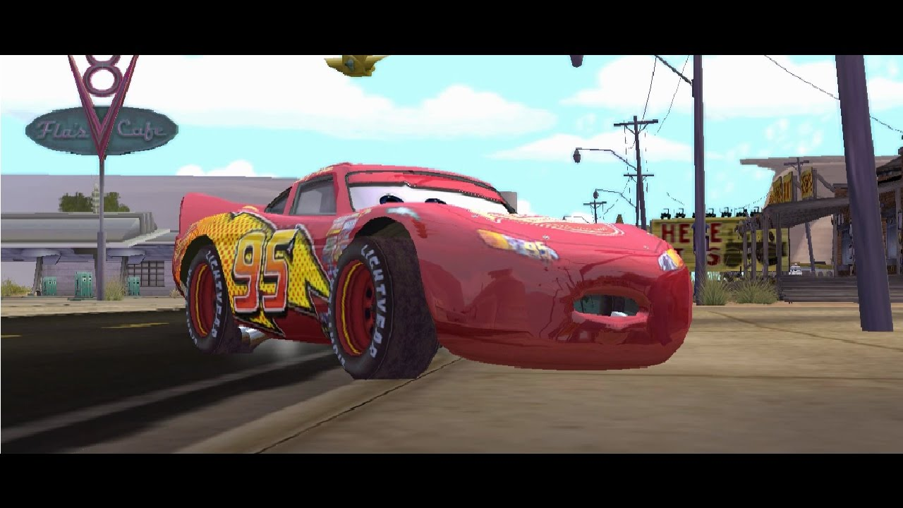 disney cars pixar game gamecube
