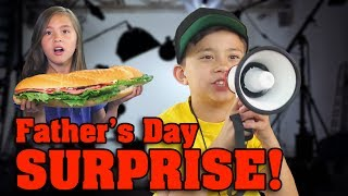 LIGHTS CAMERA ACTION Fathers Day Surprise