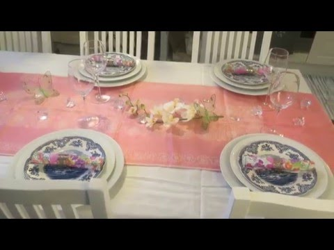 Как сервировать стол на день рождения в домашних условиях фото