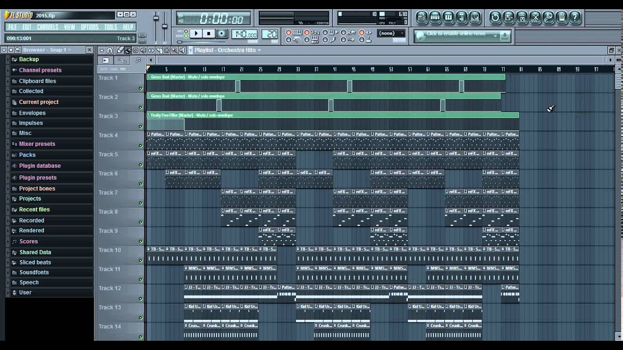 trap beat flp project free download