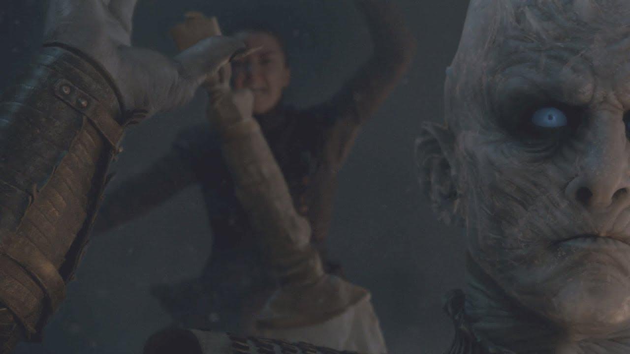 Download Arya Kills The Night King ~ Brightened Version