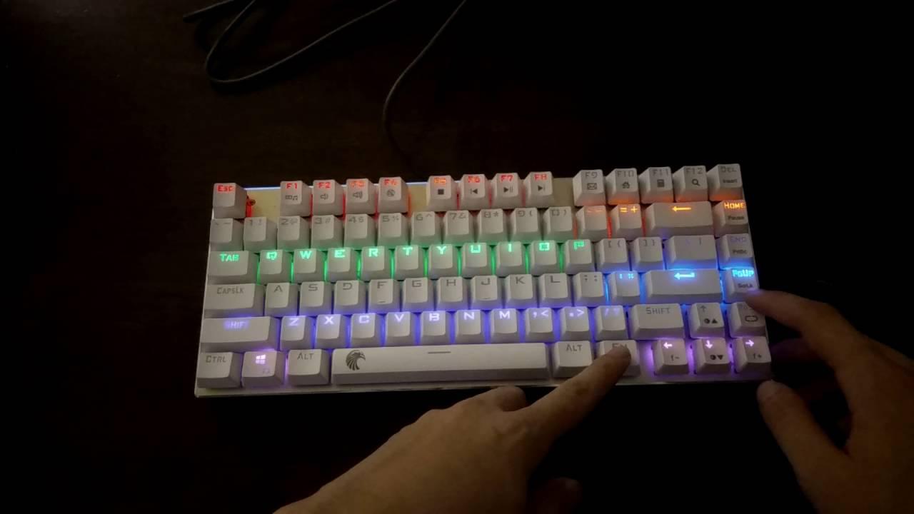 dd83cc5ba17 E Element Z88 81 Keys Black Base Black Switch Rainbow LED Mechanical K –  Novero Gaming Store