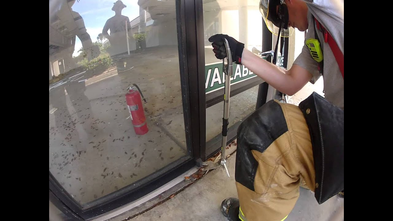 Storefront Door Removal From Pin Hinge Youtube