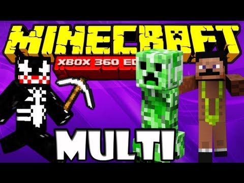 Minecraft Xbox 360 - ft. DrMaster e MrNikki #7 Travel Video