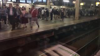 北海道・特急宗谷号稚内行 札幌駅発車(車内から)