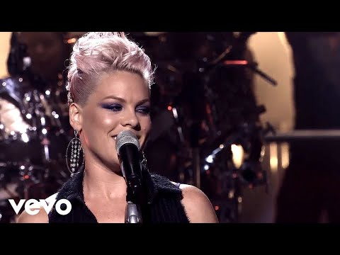 P!nk  How Come You're Not Here The Truth About Love  Live From Los Angeles